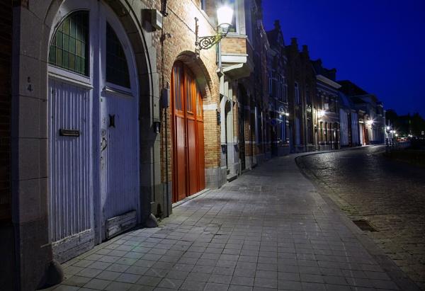 Blue hour in Bruges by Alfie_P