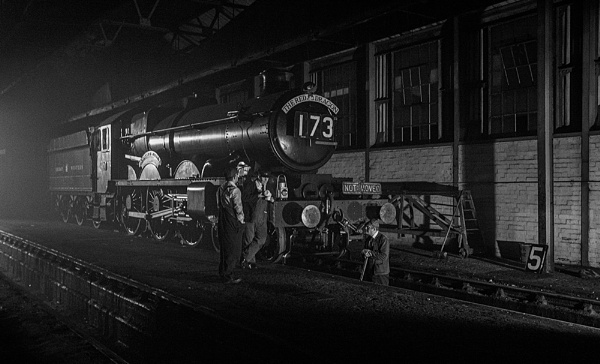 Steam shed conversation by rontear