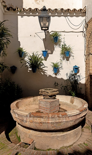 Fountain In Cordoba by AJG