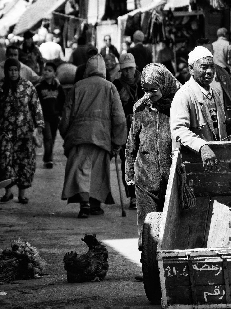Moroccan market ..