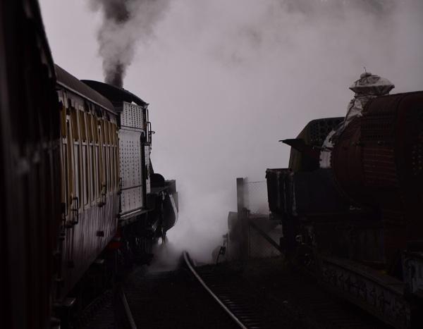 steam train by hughsey