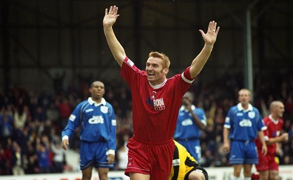 Dean Smith of Leyton Orient celebrates scoring against Birmingham City by Tim_Reder