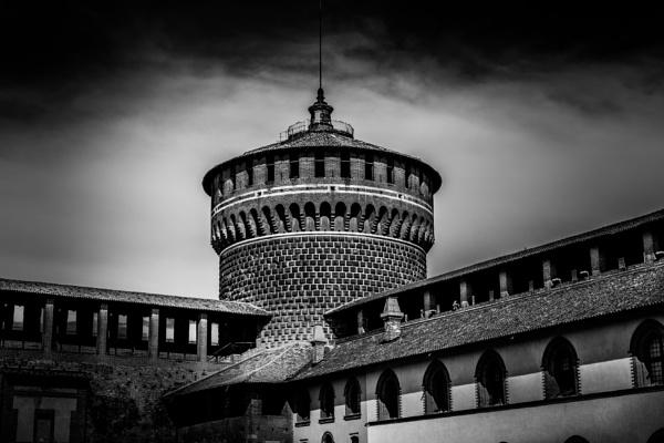 Sforza Castle in milan. by bobbyl