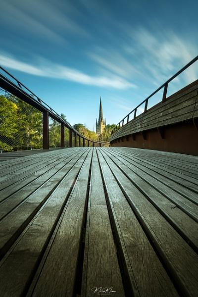 The Bridge of Lines by DiazSprite