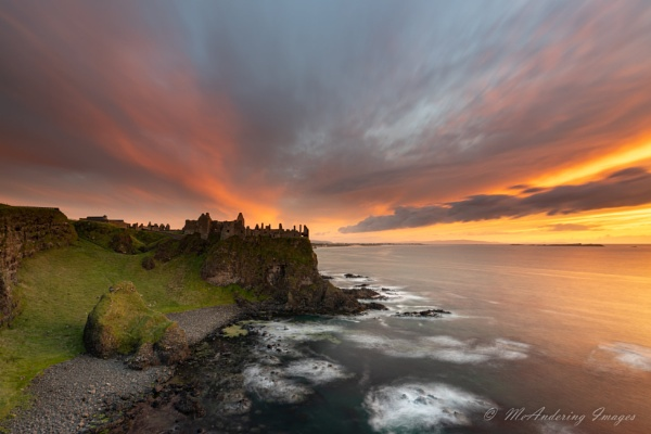 Dunluce on fire by PMWilliams