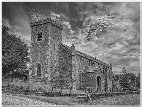 St Oswalds - Castle Bolton by DaveRyder