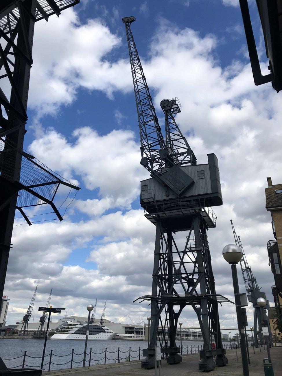 Crane At The Dock