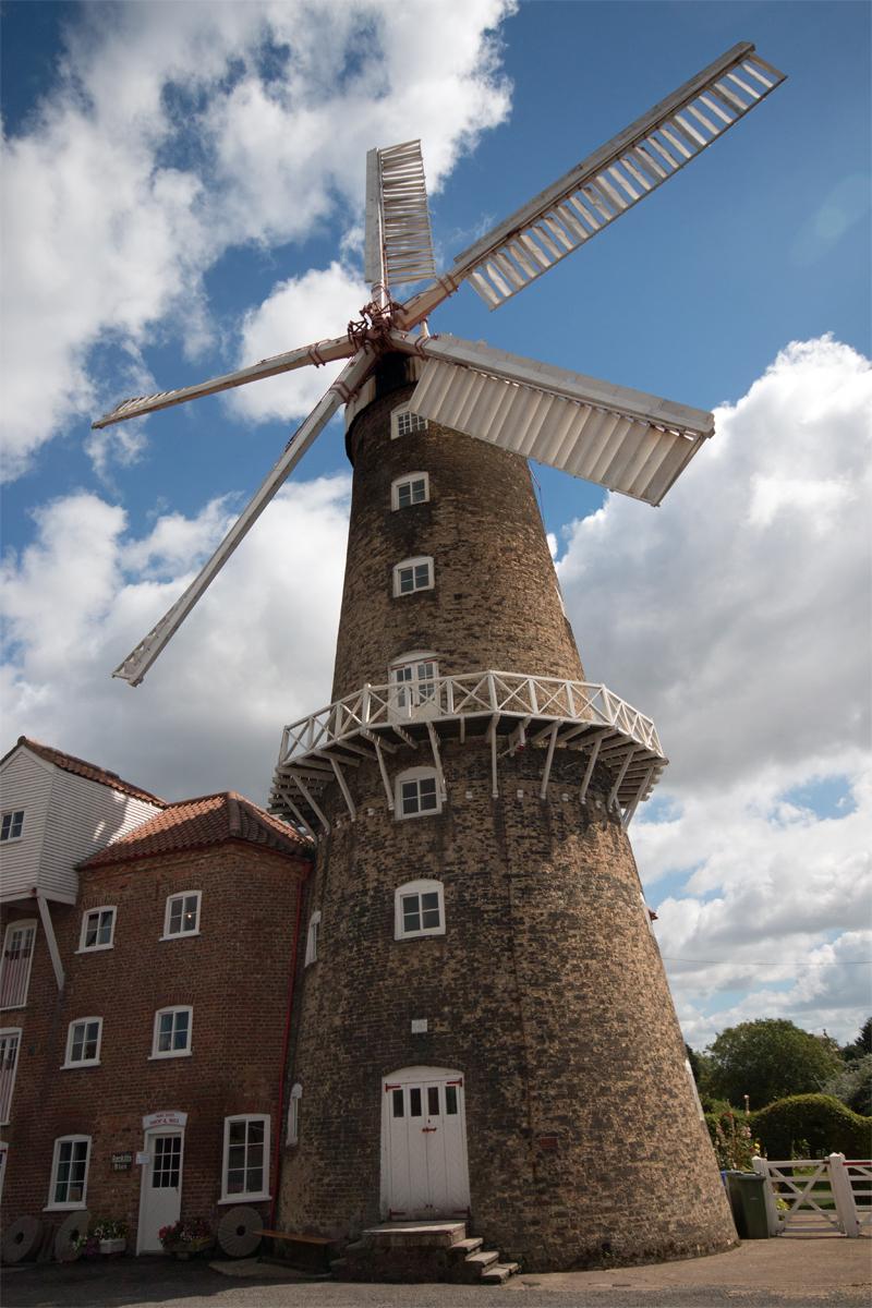 Boston's Working Windmill