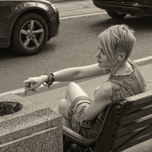 smoker by leo_nid