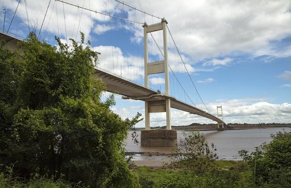 Severn Bridge/M48 Bridge- Beachley Side Chepstow Wales by VincentChristopher