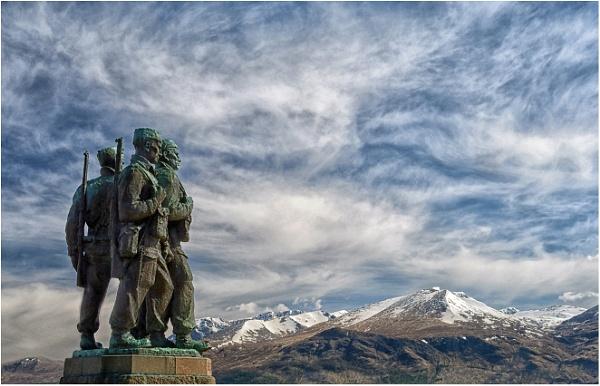 The Commando Memorial by dven