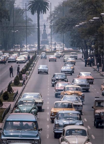1970: Beetles on Reforma by KingBee