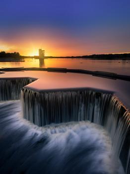 Strathclyde Park sunset