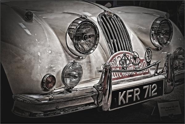 1955 Jaguar XK140 (2) by PhilT2