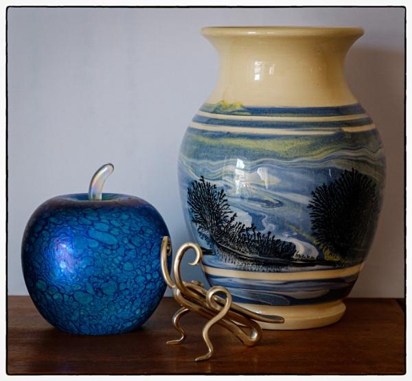 Glass Pottery, Steel by Nikonuser1
