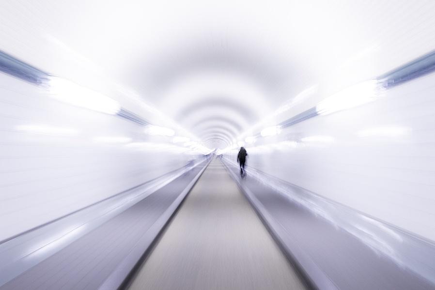 Hamburg tunnels....