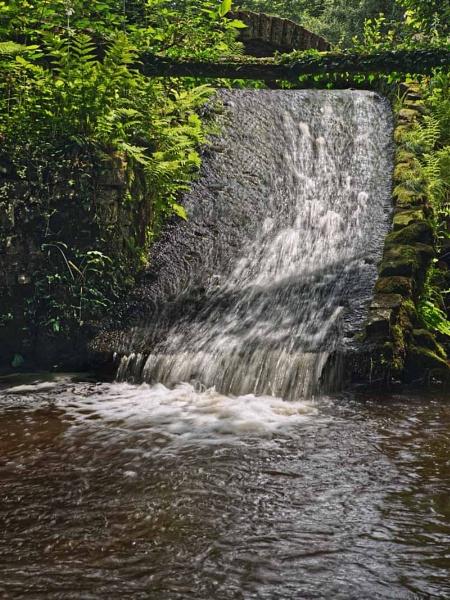 waterfall 2 sunnyhurst woods by stefan