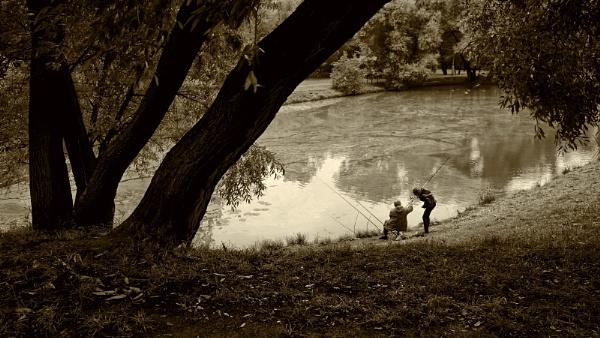 city fishing #2 by leo_nid