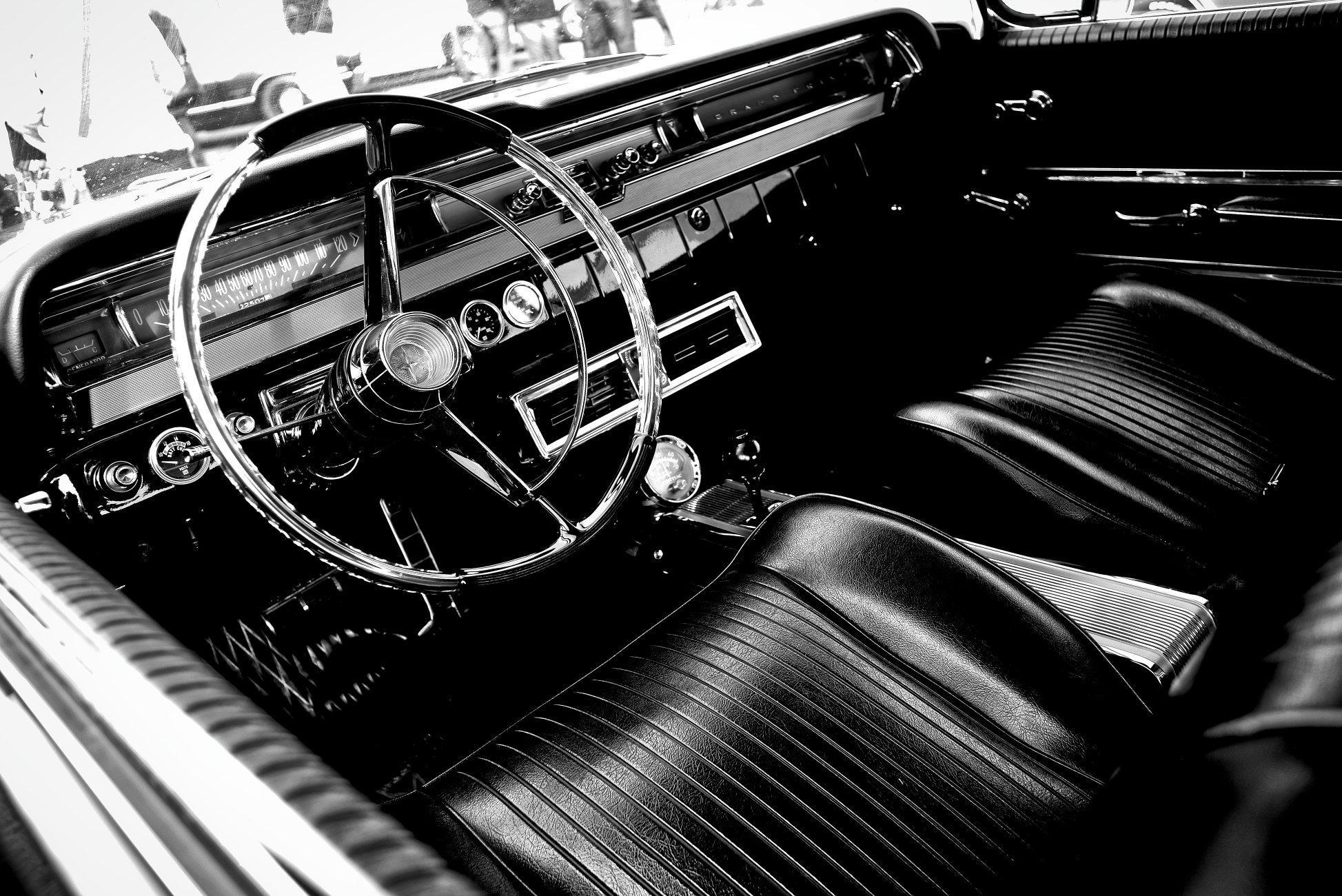 US car Interior