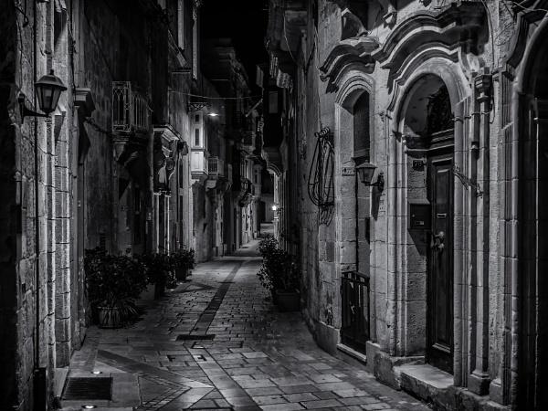 Hilda Tabone Street by Xandru