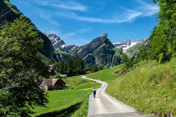 Alpstein Mountains by Xandru