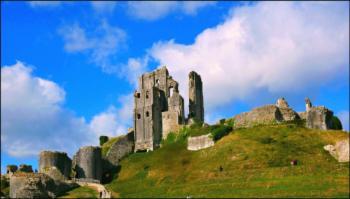 Corfe Castle,Dorset.