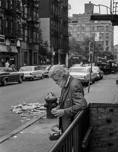 1970: Bowery #8: Reflecting by KingBee