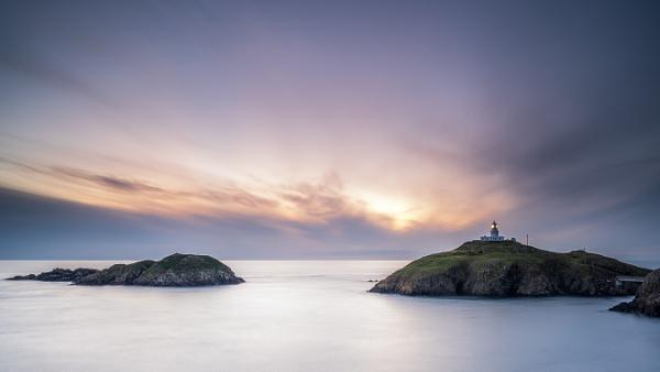 Strumble Head Lighthouse - Pembrokeshire by bridgendboy