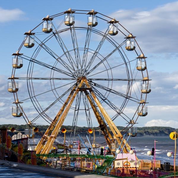 Big Wheel Bridlington by elmer1