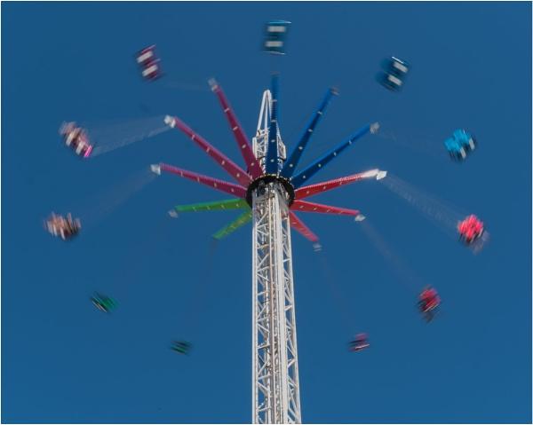 The amusement park is open. by franken