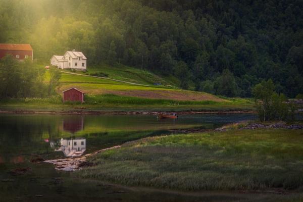Norwegian fairytale by INK74