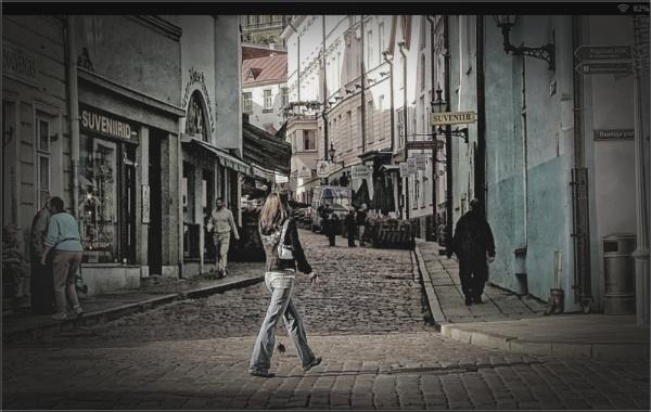 Streets of Tallinn (1) by PhilT2