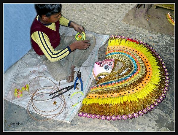 Kolkata # 60 Apprentice in Art work 2 by debu