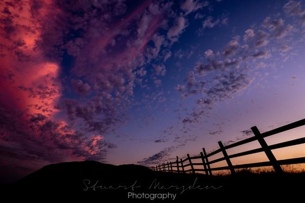 Sunset Silhouette by Stumars