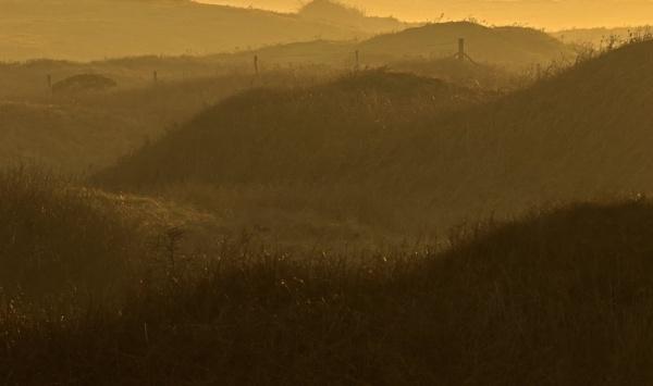 Misty Sunset by hibbz