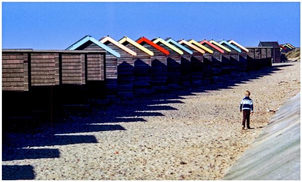 Beach Huts by mac