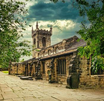 """""""Batley Parish Church""""."""