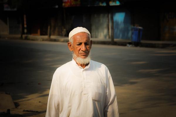 Old Man by Bhuyan