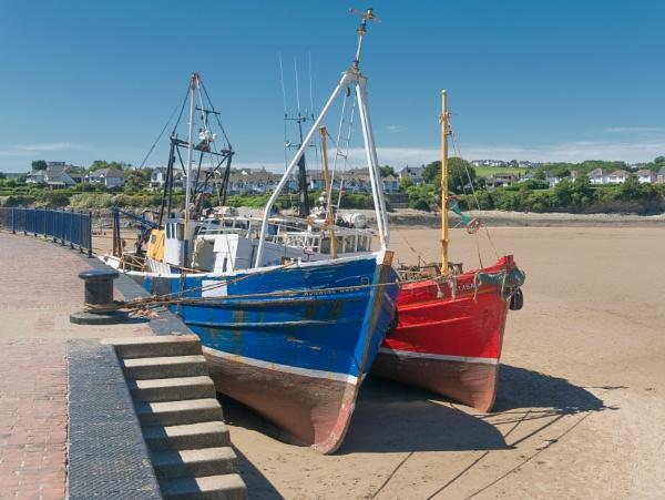 Fishing boats. by franken