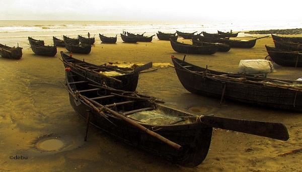 From_Kolkata # 71 Fishing Boats by debu