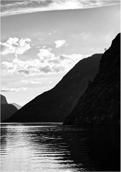 Sognefjorden, lone tree by saltireblue