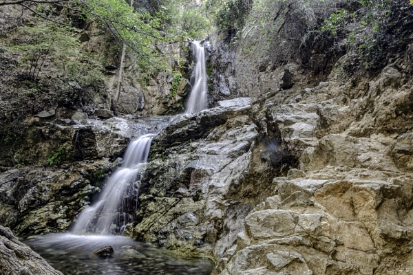 Kato Potamos Waterfall by jimobee
