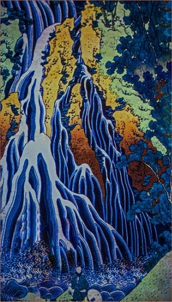 waterfall... by estonian