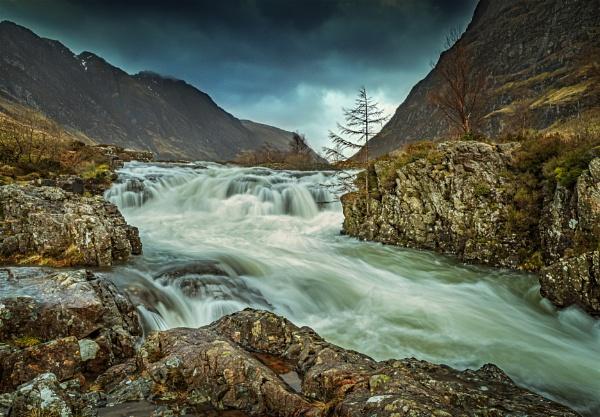 Clachaig Falls #2 by DTM