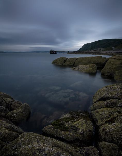 Portencross Pier by ddunn