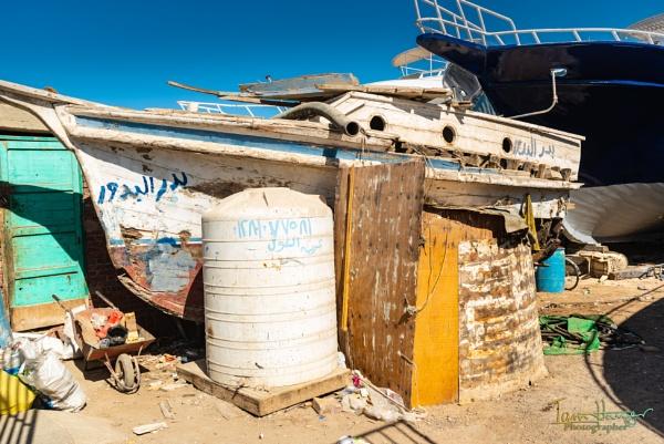Boat repair yard by IainHamer