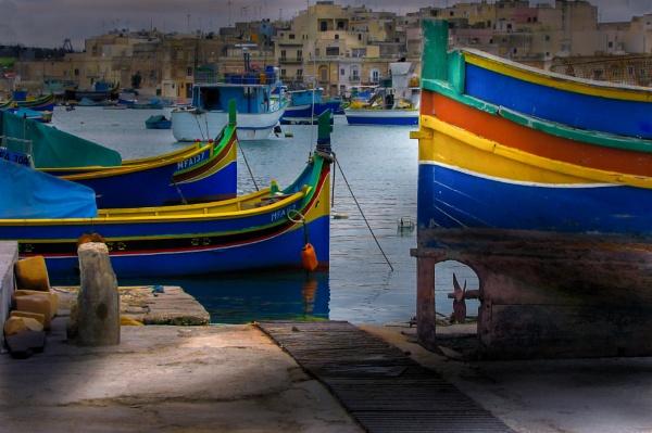 Malta\'s Coloured Boatabilia by Edcat55