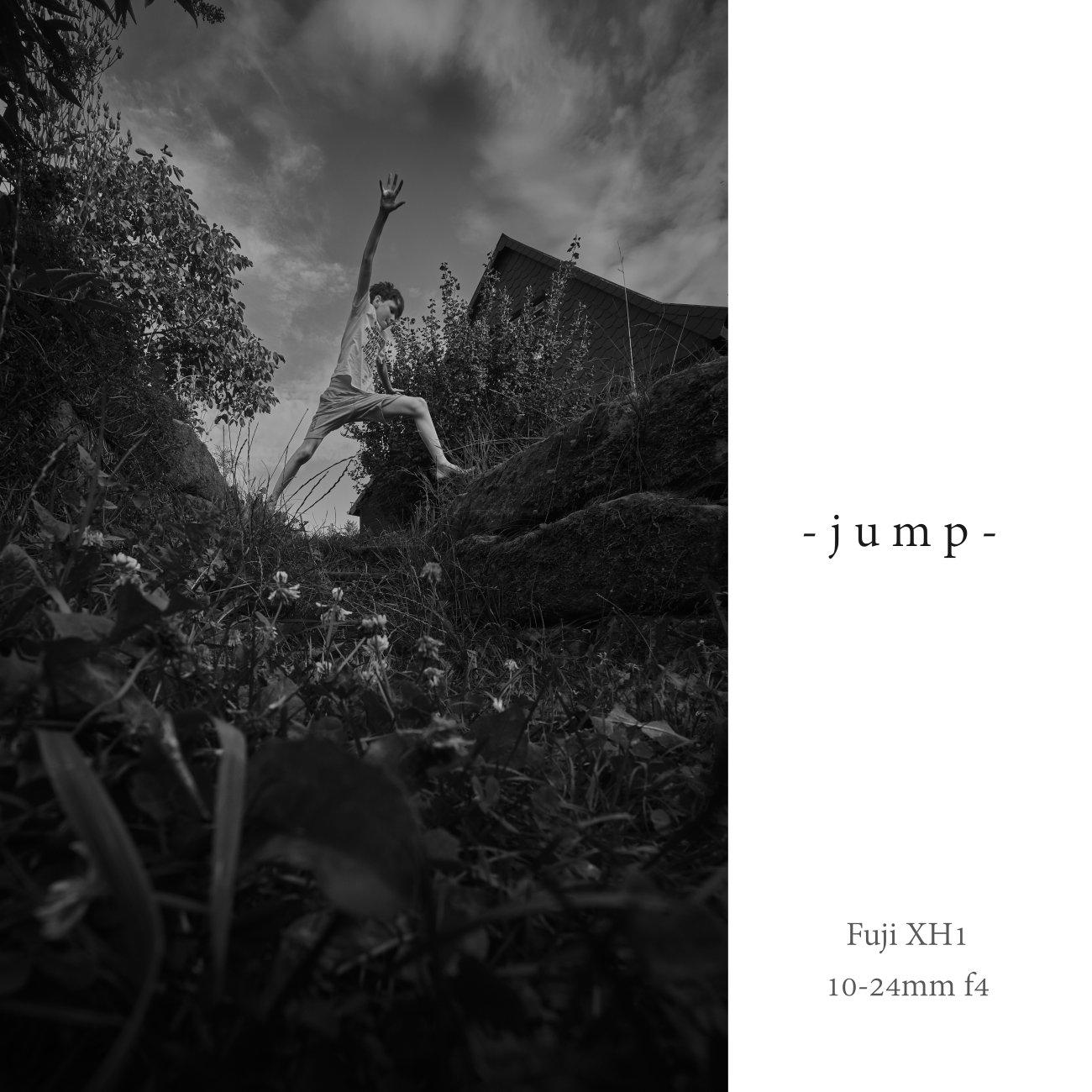 - jump -