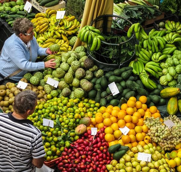Funchal Market by Silverlake