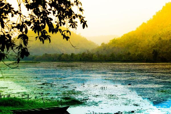 Chandubi Lake by Bhuyan